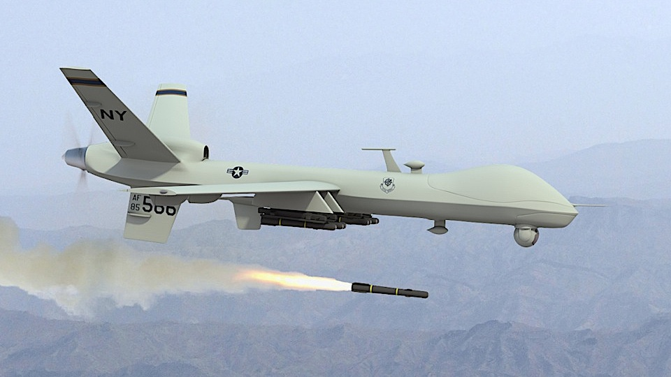 Foto US-Drohne